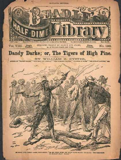 Beadle's Dime Library 24