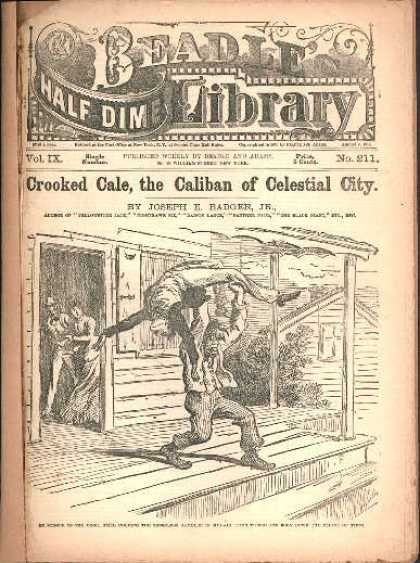 Beadle's Dime Library 25