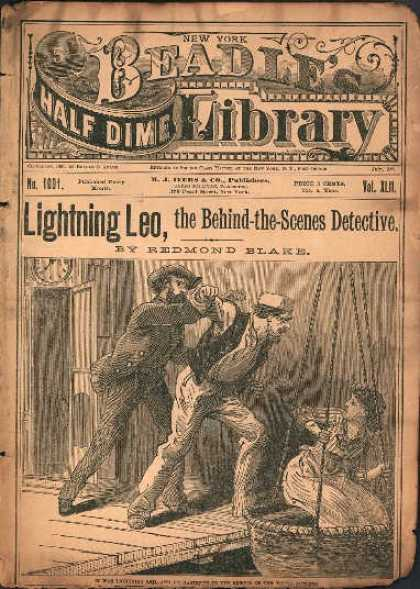 Beadle's Dime Library 38