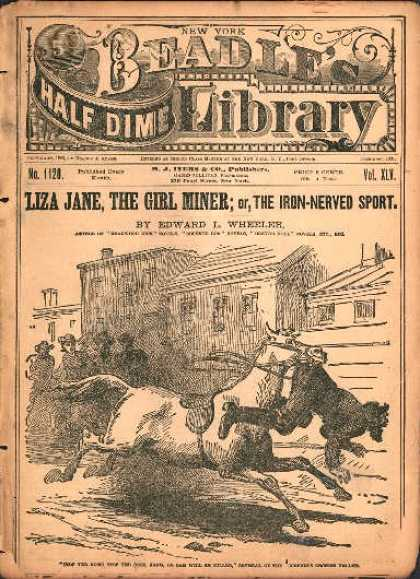 Beadle's Dime Library 46
