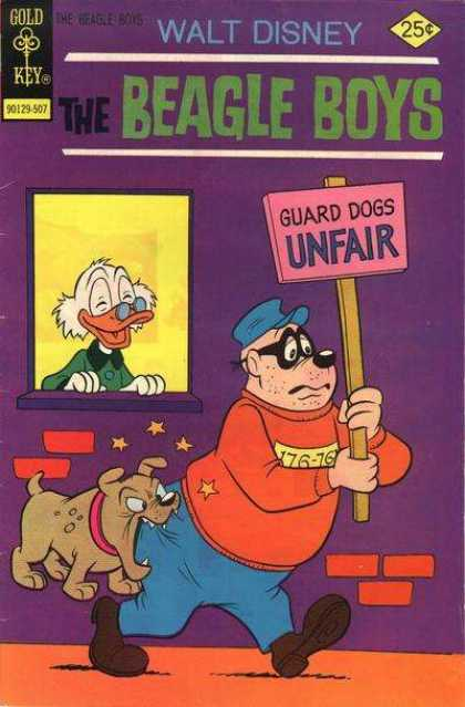 Beagle Boys 25 - Comic - Walt Disney - Gold Key - Scrooge Mcduck - Burglar