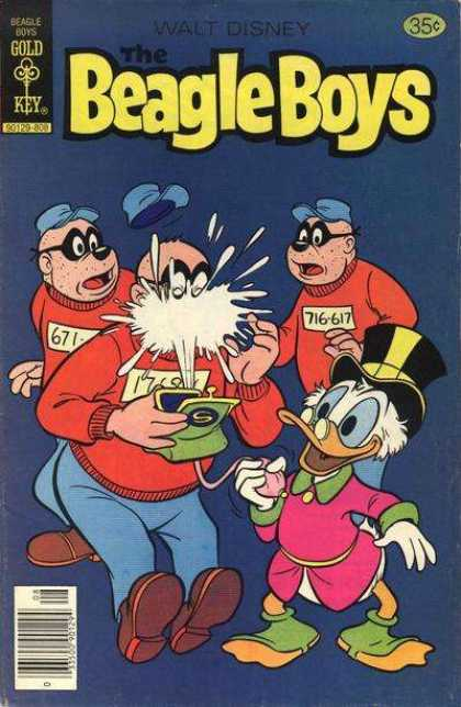 Beagle Boys 43 - Walt Disney - Beagle Boys - Scrooge Mcduck - Gold Key - Prank