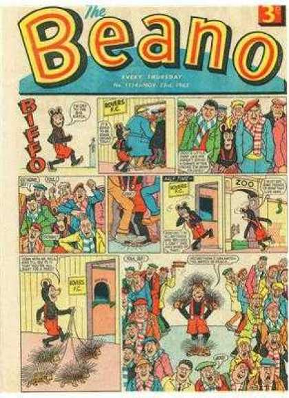 Beano 1114 - Bear - Crowd - Strip - Zoo - Pines