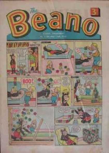 Beano 1139 - Mouse - Couch - Sleep - Boo - Blocks