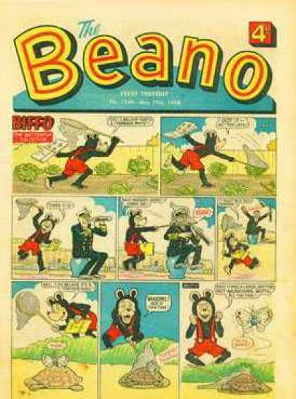 Beano 1349 - Speech Bubble - Comic Strip - Biffo - Net - Animals