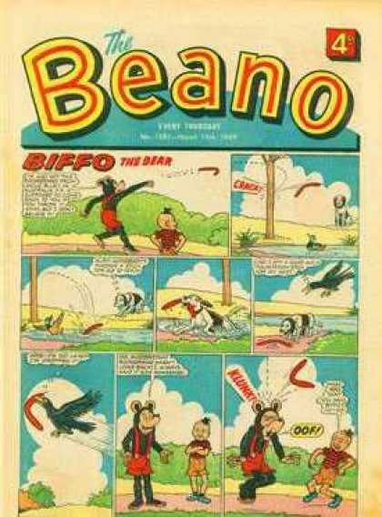 Beano 1391 - Tree - Water - Bird - Sky - Crack