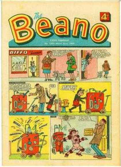 Beano 1392 - Cartoons - Dog - Women - Machine - Man