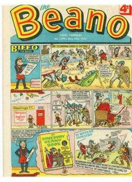 Beano 1399 - Suspenders - Panels - Doomsday - Biffo - Beach