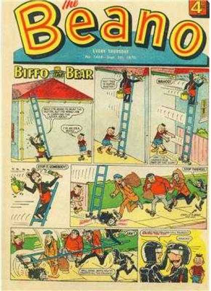 Beano 1468 - Monky - Red Roof - Painting House - Thief - A Blessing In Disguise