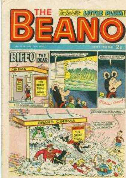 Beano 1534 - The Beanp - Little Plum - Water - Flood - Sink