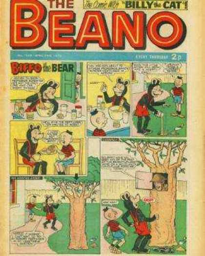Beano 1554 - Bear - Mixing - Cooking - Tree - Soldier