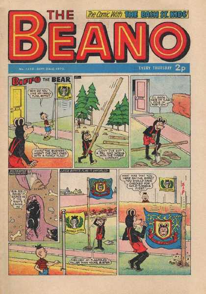 Beano 1575 - Mouse - Shovel - Mole - Pole - Flag
