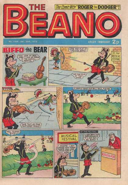 Beano 1589 - Violin Wanna Be - Home Run Aria - Last Seranada - Smart Boys Always Play The Hardest - Bearly Enough To Win