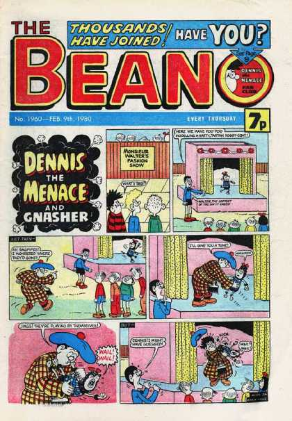 Beano 1960 - Thousands Have Joined - Have You - Dennis The Menace - Gnasher - Boys