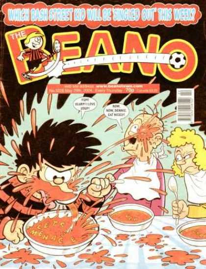 Beano 3228 - Alphabet Soup - Eating - Kid - Spoon - Parents