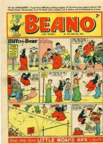 Beano 518 - Biffo And Bear - Culture - Donald Duck - Mouse - Well