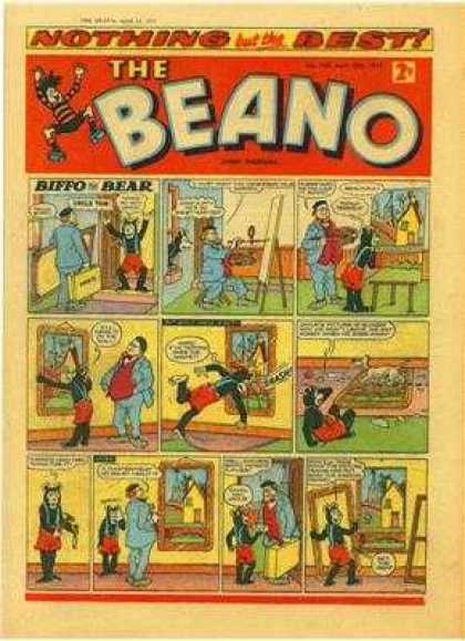 Beano 769 - Funny - Artist - Newspaperlooks Like It Came From The Newspaper - Thought It Was A Window - Sold For 2 Cents