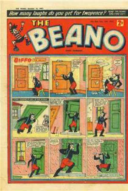 Beano 804 - Doors - Windows - Jumping - House - Chair
