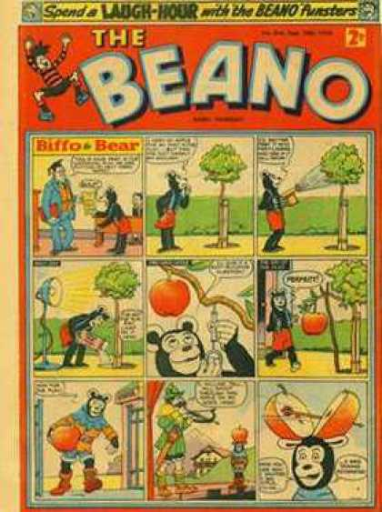 Beano 844 - Apple - Tree - Bow And Arrow - Lamp - Stage