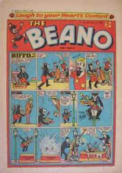 Beano 850 - Hearts Content - Comedy - Small Pictures - Cat - Mage