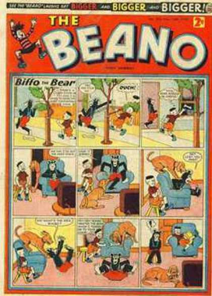 Beano 904 - Golden Age - Nostalgia Comics - Classic Action Adventure - Funny Pages - Laughs For The Whole Family