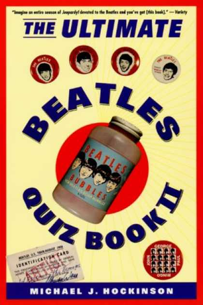 Beatles Books - The Ultimate Beatles Quiz Book II