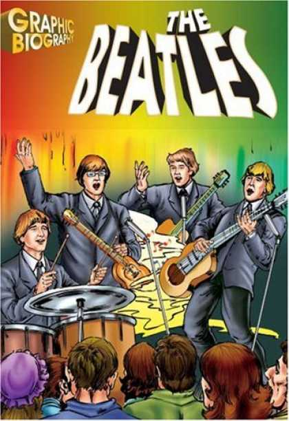 Beatles Books - The Beatles, Graphic Biography (Saddleback Graphic Biographies)