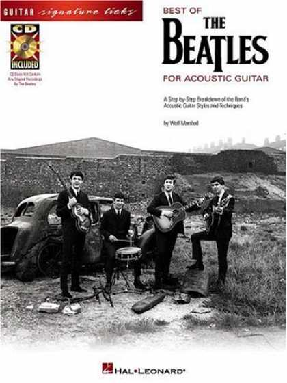 Beatles Books - Best of The Beatles for Acoustic Guitar (Guitar Signature Licks)