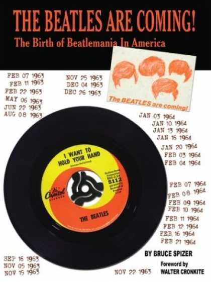 Beatles Books - The Beatles Are Coming: The Birth of Beatlemania in America