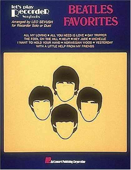Beatles Books - Beatles Favorites For Recorder