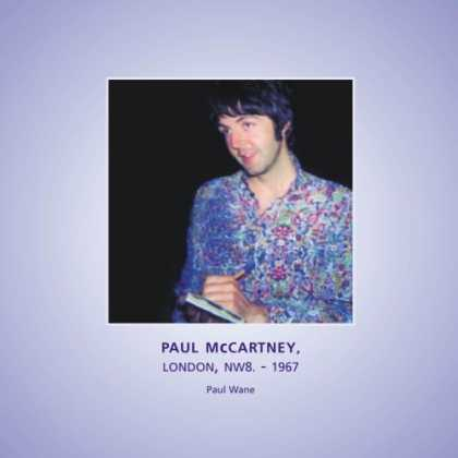 Beatles Books - Paul McCartney, Cavendish Avenue, NW8 - 1967 (Beatles Snapshots)
