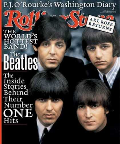 Beatles Books - Rolling Stone Magazine # 863 March 1 2001 Beatles (Single Back Issue)