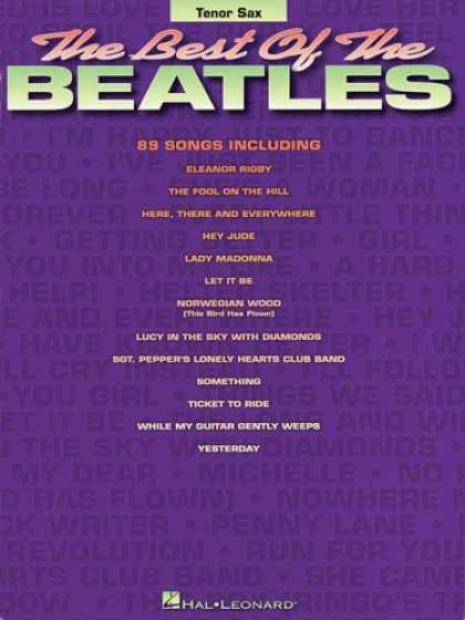 Beatles Books - Best of the Beatles for Tenor Sax