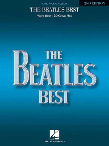 Beatles Books - The Beatles Best: Over 120 Great Beatles Hits (Piano, Vocal, Guitar)