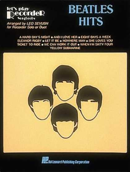 Beatles Books - Beatles Hits For Recorder