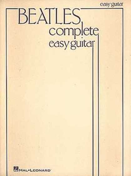 Beatles Books - The Beatles Complete Easy Guitar