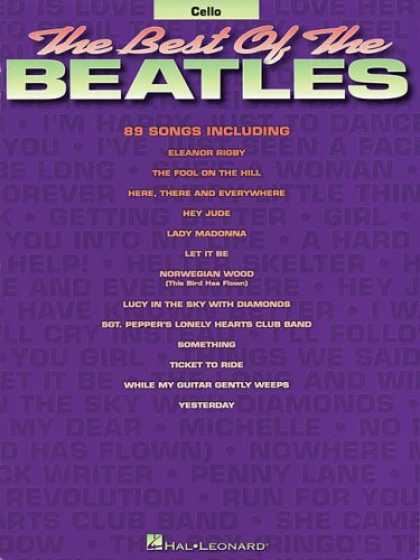 Beatles Books - Best of the Beatles for Cello