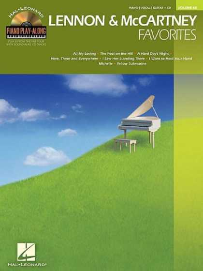 Beatles Books - Lennon and McCartney Favorites: Piano Play-Along Volume 68
