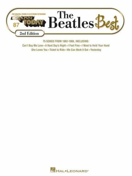 Beatles Books - Beatles Best: E-Z Play Today Volume 87