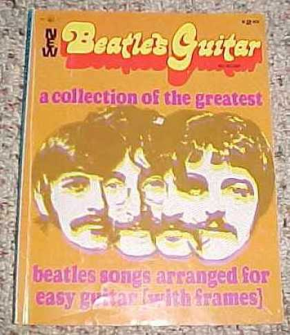 Beatles Books - New Beatles Guitar Album of Collection of the Greatest Beatles Songs Arranged fo