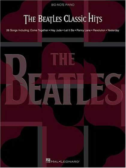 Beatles Books - The Beatles Classic Hits (Big Note Piano)