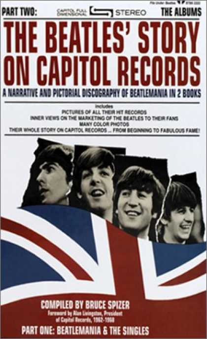 Beatles Books - The Beatles Story on Capitol Records, Parts One and Two (Slipcase Edition)