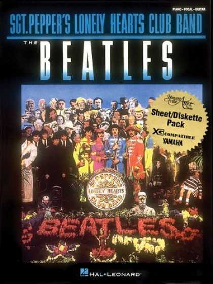 Beatles Books - The Beatles - Sergeant Pepper's Lonely Hearts Club Band