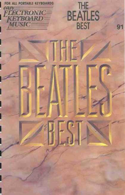 Beatles Books - Hal Leonard the Beatles Best for All Portable Keyboards (Easy Electronic Keyboar