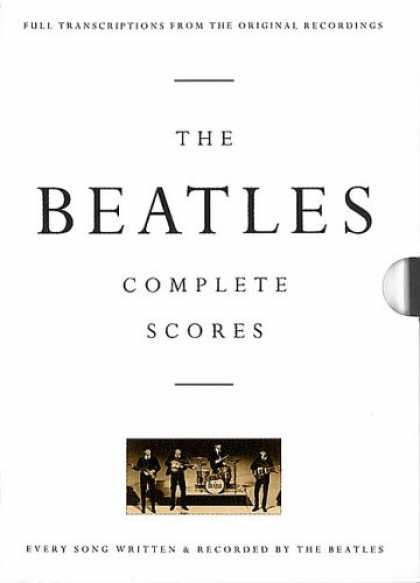 Beatles Books - The Beatles - Complete Scores