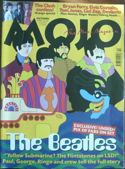 Beatles Books - Mojo Magazine Issue 71 (October, 1999) (Beatles cover)