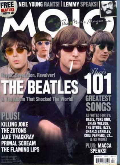 Beatles Books - Mojo Music Magazine July 2006: The Beatles, Killing Joke, The Flaming Lips, Neil