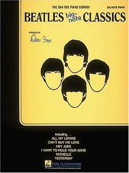 Beatles Books - Beatles Big Note Classics