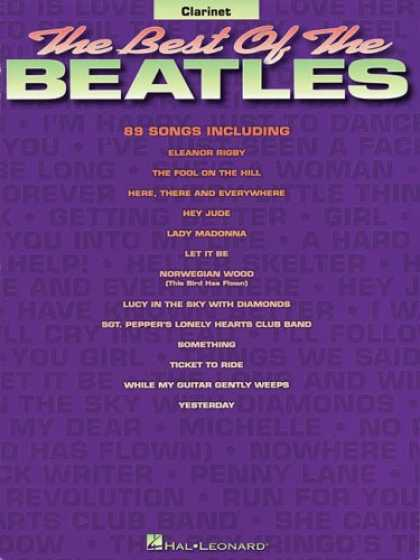 Beatles Books - Best of the Beatles: Clarinet