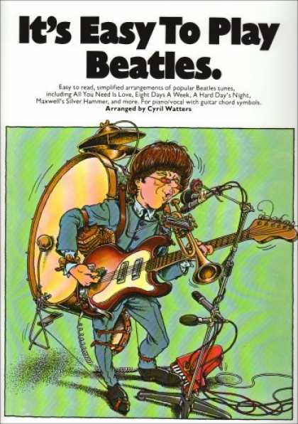 Beatles Books - It's Easy to Play Beatles